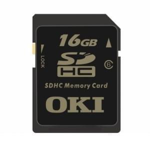 OKI 16Gb Secure Digital Memory Card