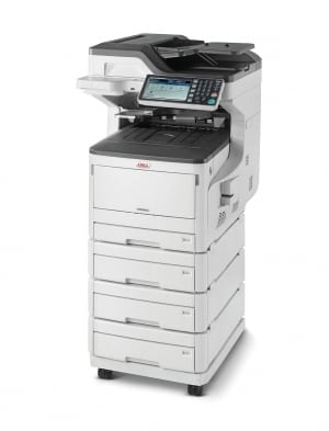 OKI MC853dnv A3 Colour Multifunction LED Laser Printer