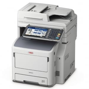 OKI MB760dnfax A4 Mono Multifunction LED Laser Printer