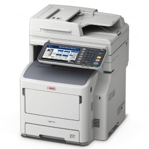 OKI MB770 A4 Mono Multifunction LED Laser Printer
